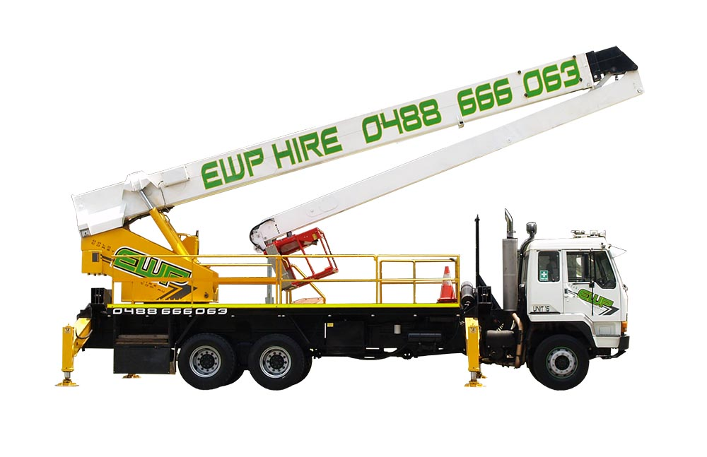 30m EWP Hire | Cherry Picker Hire | EWP Hire Gold Coast | Australia